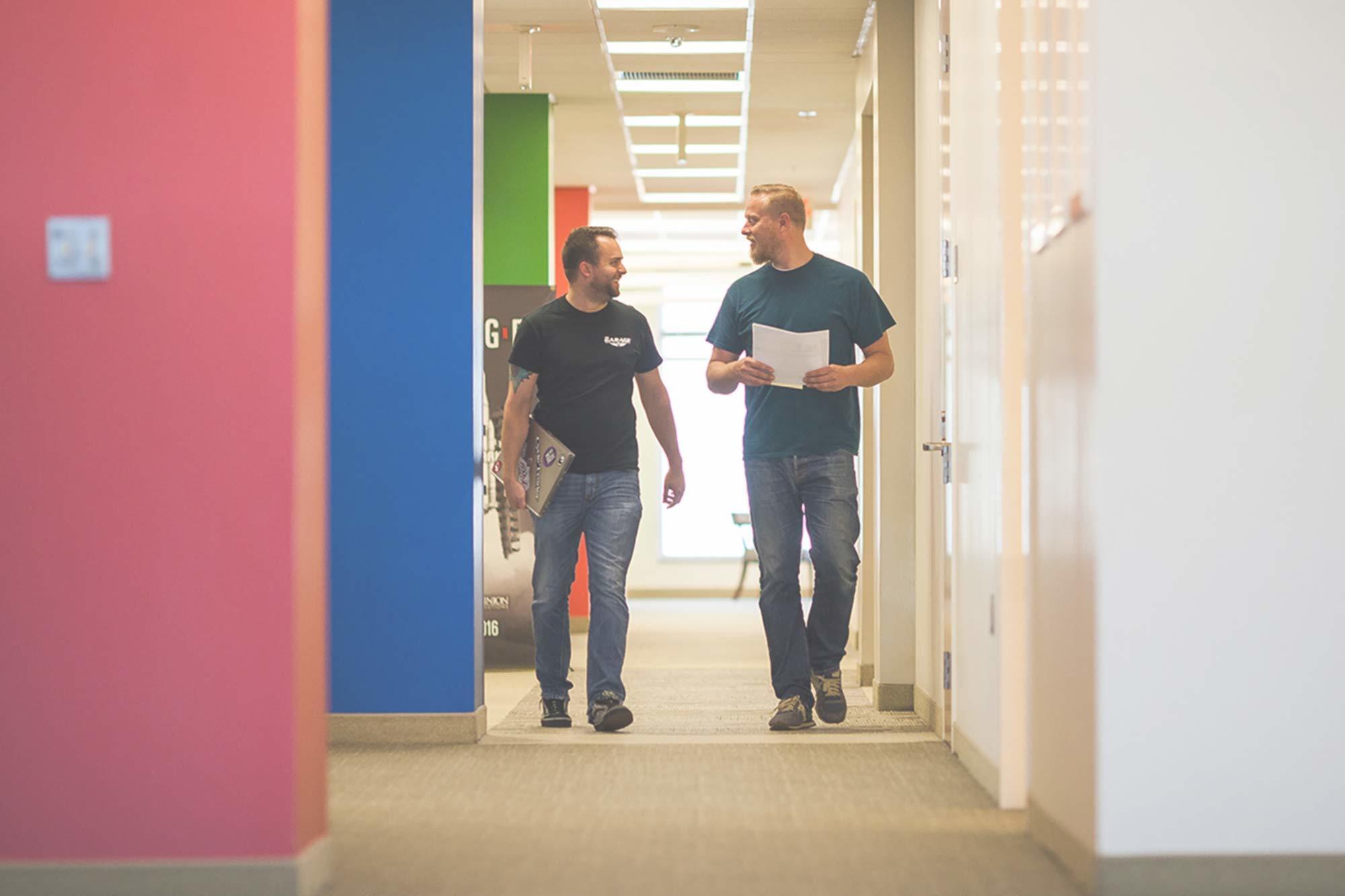 Hero hallway